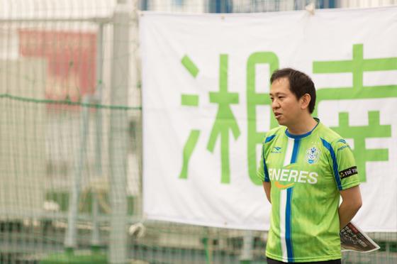 坂本取締役の挨拶のあとに、湘南電力社長の渡部が、挨拶ならびに10月から一般向け電気サービスを始めることをお話させて頂きました。